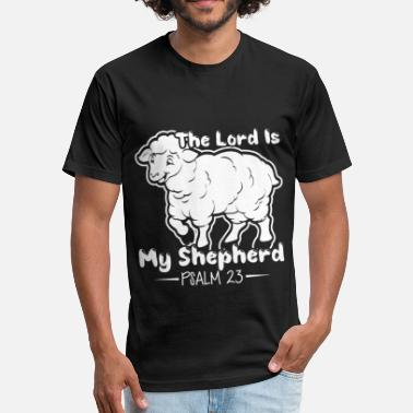 Lord Is My Shepherd THE LORD IS MY SHEPHERD SHIRT - Unisex Poly Cotton T-Shirt