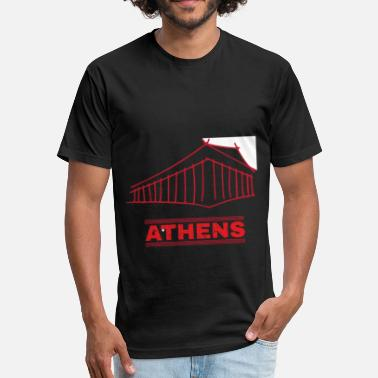 Athene Athens - Fitted Cotton/Poly T-Shirt by Next Level