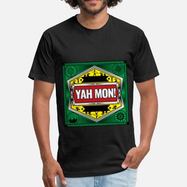 Jamaican Culture Jamaican Patois Slang Tourists Reggae Lovers Rasta Roots Culture - Fitted Cotton/Poly T-Shirt by Next Level