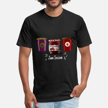 Jam Session Jam Session - Fitted Cotton/Poly T-Shirt by Next Level