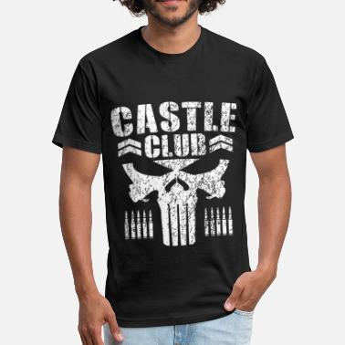 Castle castle club - Fitted Cotton/Poly T-Shirt by Next Level