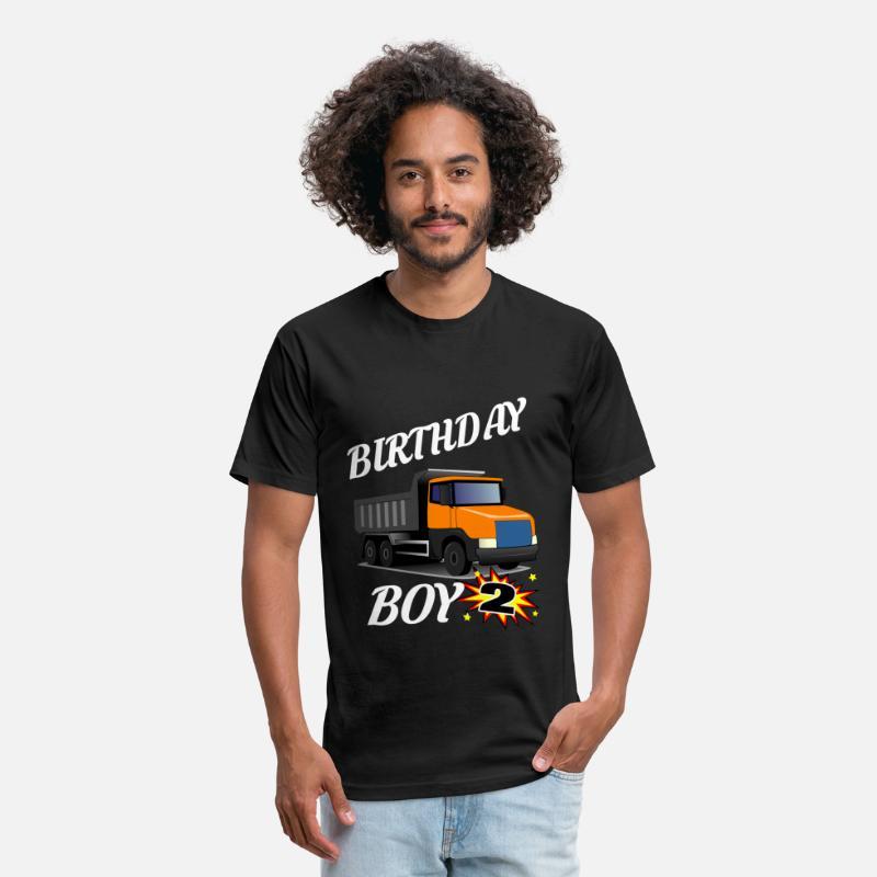 2 Years Old Birthday ShirtDumptruck GifDesign Unisex Poly Cotton T