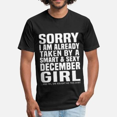 Shes Already Taken Sorry I am already taken by a smart and sexy - Unisex Poly Cotton T-Shirt