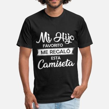 Regalos Hijo Regalo Camisa - Fitted Cotton/Poly T-Shirt by Next Level