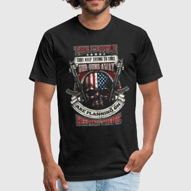 2nd Amendment - Fitted Cotton/Poly T-Shirt by Next Level