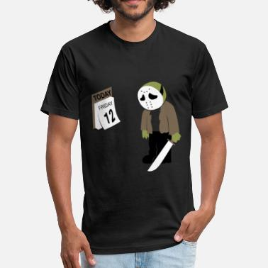 Friday The 12th Friday the 12th - Fitted Cotton/Poly T-Shirt by Next Level