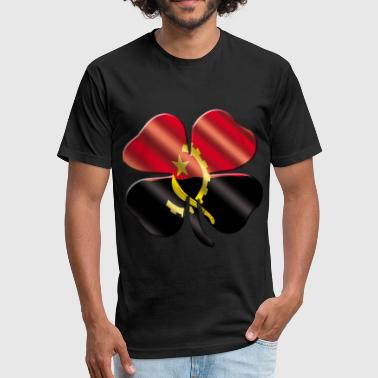 Angola Designs Angola - Fitted Cotton/Poly T-Shirt by Next Level