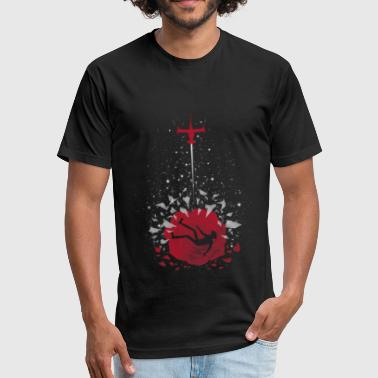 Cowboy Bebop Ballad of a Fallen - Fitted Cotton/Poly T-Shirt by Next Level