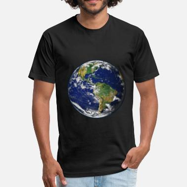 Save Our Planet Our Earth - Save the planet - Fitted Cotton/Poly T-Shirt by Next Level