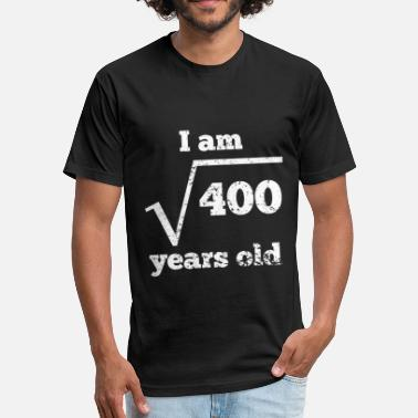 20th Birthday 20th Birthday Square Root - Unisex Poly Cotton T-Shirt