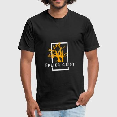 Free Spirit Funny Free Spirit - Fitted Cotton/Poly T-Shirt by Next Level