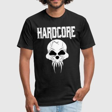 Hardcore - Fitted Cotton/Poly T-Shirt by Next Level