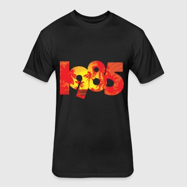 summer 1985  - Fitted Cotton/Poly T-Shirt by Next Level