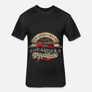 Grandpa I Ve Been Called A Lot Of Names Men S T Shirt Spreadshirt