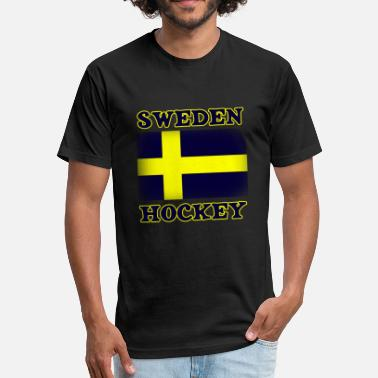 Sweden Sport Sweden Sports - Fitted Cotton/Poly T-Shirt by Next Level