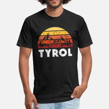 Tyrol Tyrol Austria - Fitted Cotton/Poly T-Shirt by Next Level