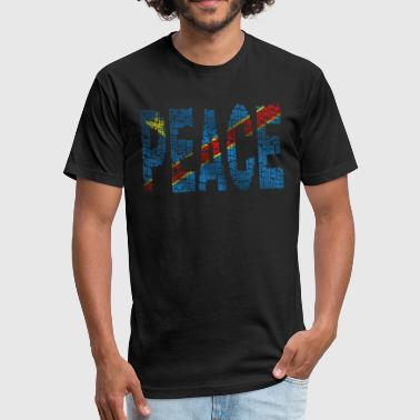 Congo - Fitted Cotton/Poly T-Shirt by Next Level