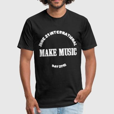 Make Music - Fitted Cotton/Poly T-Shirt by Next Level