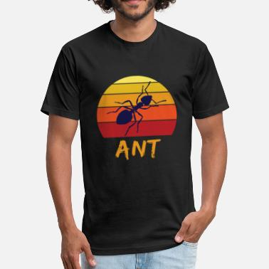Ant Ant - Fitted Cotton/Poly T-Shirt by Next Level