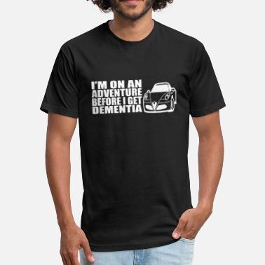 Adventur Car MOTOR CAR ADVENTURE - Fitted Cotton/Poly T-Shirt by Next Level