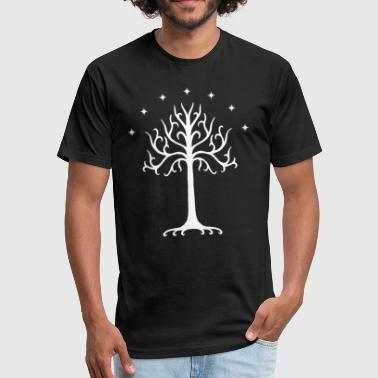 Gondor Tree of Gondor - Fitted Cotton/Poly T-Shirt by Next Level