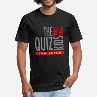 Quiz Quiz Kids Challenge - Fitted Cotton/Poly T-Shirt by Next Level