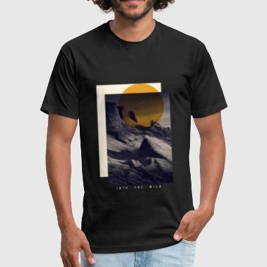 Into The Wild T-Shirts - Fitted Cotton/Poly T-Shirt by Next Level