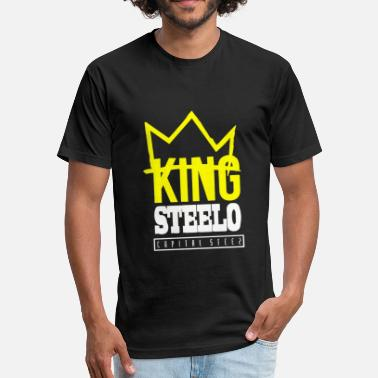 Steez Capital STEEZ KING STEELO - Fitted Cotton/Poly T-Shirt by Next Level