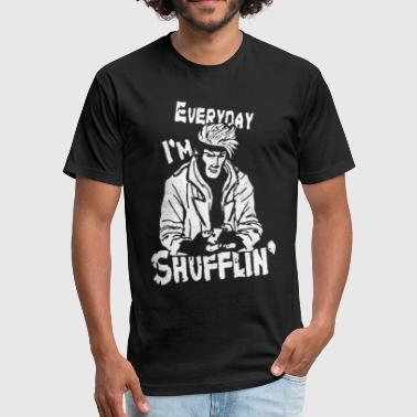 Shufflin Everyday I m Shufflin - Fitted Cotton/Poly T-Shirt by Next Level