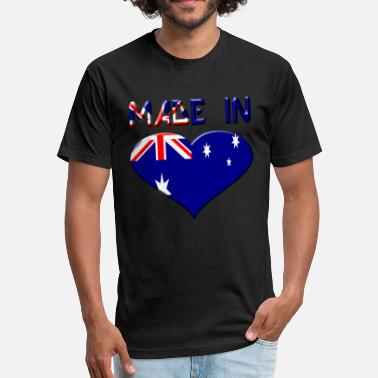 Australia Open Australia - Fitted Cotton/Poly T-Shirt by Next Level