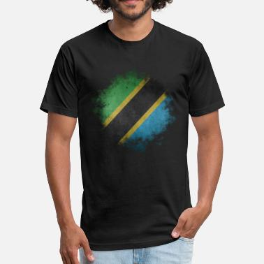 Tanzania Designs Tanzania - Fitted Cotton/Poly T-Shirt by Next Level