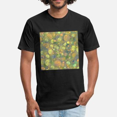 Abstract Pattern Abstract Planets Pattern - Fitted Cotton/Poly T-Shirt by Next Level