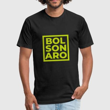 Jair Bolsonaro President Brazil Brazlian Election Support Cool - Fitted Cotton/Poly T-Shirt by Next Level