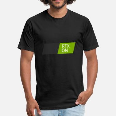 Nvidia NVIDIA RTX On - Fitted Cotton/Poly T-Shirt by Next Level