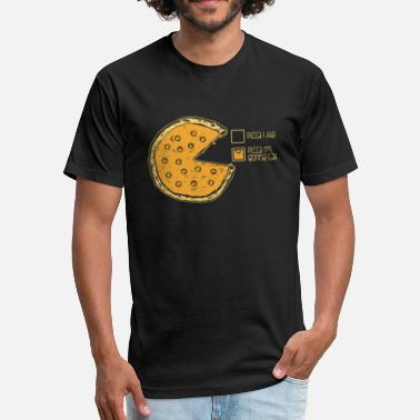 Pie Pizza Pizza Pie Chart - Fitted Cotton/Poly T-Shirt by Next Level