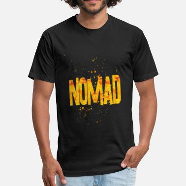 Nomad Jokes nomad 1 - Fitted Cotton/Poly T-Shirt by Next Level