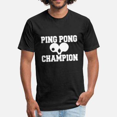 Pingpong PINGPONG - Fitted Cotton/Poly T-Shirt by Next Level