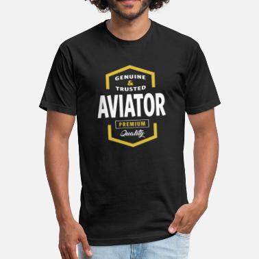 Girls In Aviation Aviator - Fitted Cotton/Poly T-Shirt by Next Level