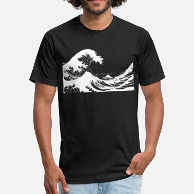 Dark Wave Dark Wave - Fitted Cotton/Poly T-Shirt by Next Level