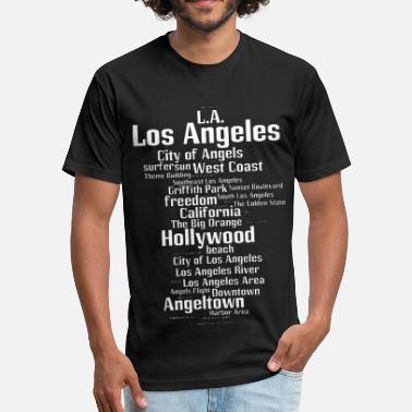 Los Angeles Los Angeles (L.A. Angeltown) - Unisex Poly Cotton T-Shirt