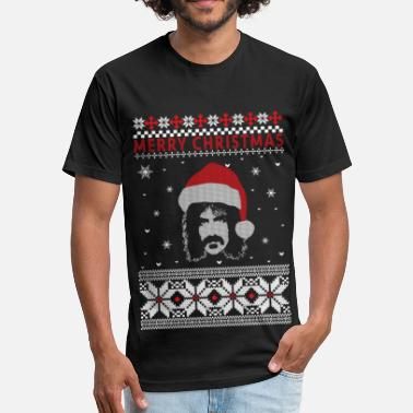 Zappa Frank Zappa - Frank Zappa - merry christmas swea - Fitted Cotton/Poly T-Shirt by Next Level