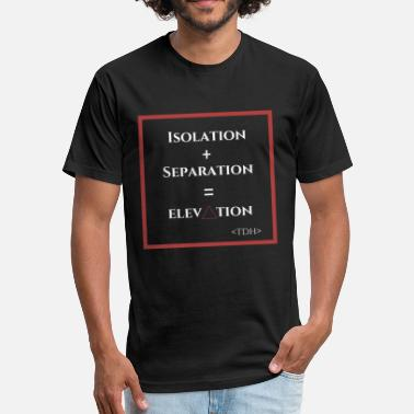 Socialist Equation - Fitted Cotton/Poly T-Shirt by Next Level
