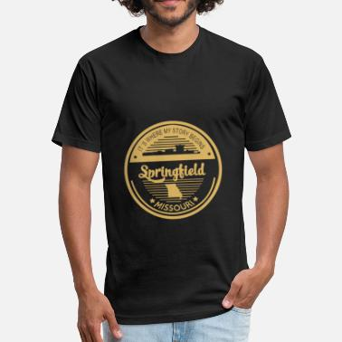 Springfield Armory Springfield - It's where my story begins t - sh - Fitted Cotton/Poly T-Shirt by Next Level
