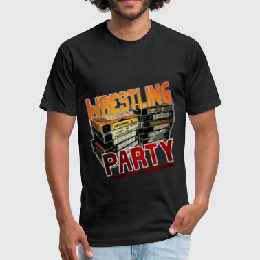 Bullet Club wrestling party - Fitted Cotton/Poly T-Shirt by Next Level