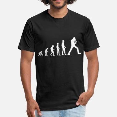 Evolution Guitar Evolution Guitar - Fitted Cotton/Poly T-Shirt by Next Level