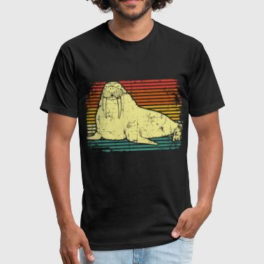 Zoo Animals Walrus Zoo animal - Fitted Cotton/Poly T-Shirt by Next Level