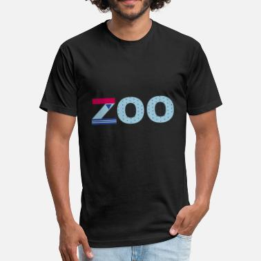 Zoo Zoo - Fitted Cotton/Poly T-Shirt by Next Level