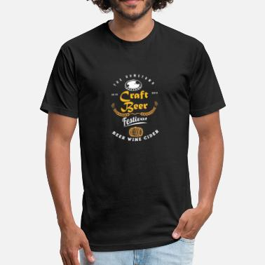 Beerathlon Craft Beer Festival - Fitted Cotton/Poly T-Shirt by Next Level