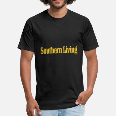 Southern Germany Southern Living - Fitted Cotton/Poly T-Shirt by Next Level