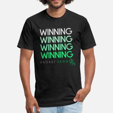 Winning Winning, Winning, Winning - Fitted Cotton/Poly T-Shirt by Next Level